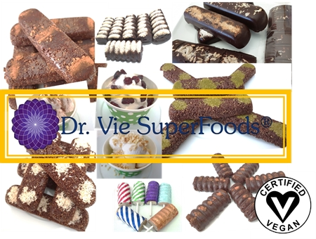 Dr Vie Superfoods raw vegan gluten free breakfast snacks dessert ice cream order on uber eats in KZN