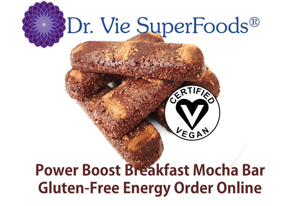 Dr. Vie Superfoods vegan breakfast gluten free mocha snack order online and pick up